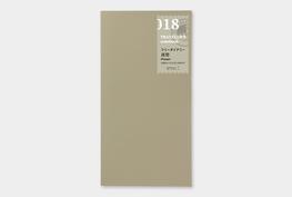 Traveler's notebook - Free diary (week verticaal) refill 018