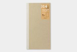 Traveler's notebook - Kraft papier refill 014