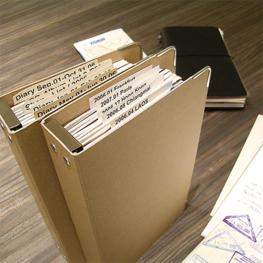 Traveler's notebook - Refill Binder 011