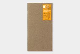 Traveler's notebook - Grid pagina's notebook refill 002