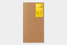 Traveler's notebook - lijntjes papier notebook refill 001