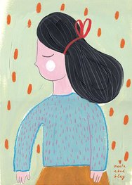 """Marta Abad Blay """"What Penny wants"""" poster print A2"""