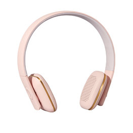 KREAFUNK aHEAD Bluetooth Koptelefoon dusty pink