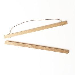 Liljebergs magnetische eiken poster hanger 51 cm