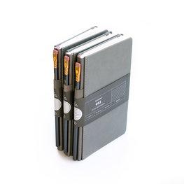 Blackwing 602 Slate Notebook met lijntjes