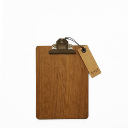 Ferm Living Klembord A5 Smoked Oak
