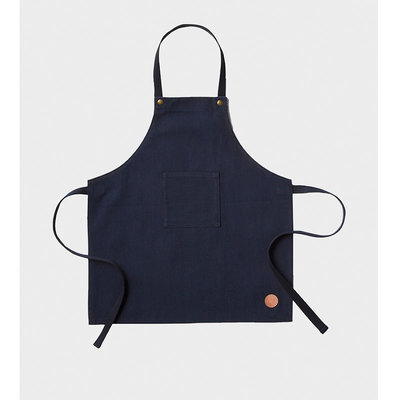 Ferm Living Kinderschort Denim Blauw