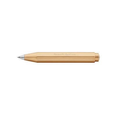 Kaweco Aluminium Sport Balpen pen Goud