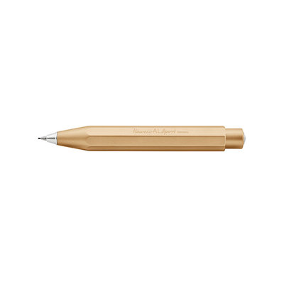 Kaweco Aluminium Sport mechanical Pencil 0,7mm Goud