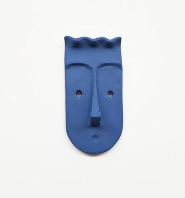 Studio Daphne Zuilhof Nosy muurhaak blauw