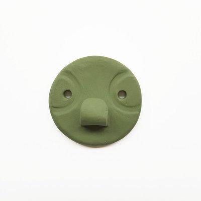 Studio Daphne Zuilhof Nosy muurhaak groen