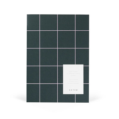 NOTEM Notebook MILO week planner groen