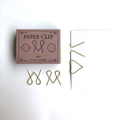 Tools to Liveby Brass Niagara Paperclips