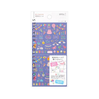 Midori Traveler's notebook Sticker Collection Anniversary