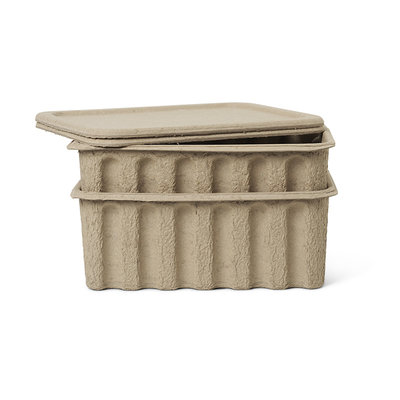 Ferm Living pulp boxes large (set van 2)
