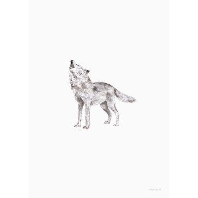 Inkylines Print Wolf A5