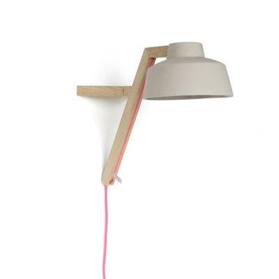 Porseleinen wandlamp
