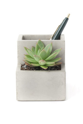 Pennenbak & planter beton small