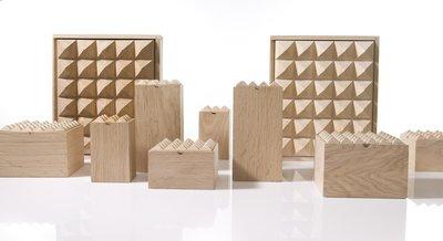 Pyramid Box eiken van Korridor Design