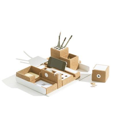 Ubikubi Niu Bureau Organizer - complete desk set
