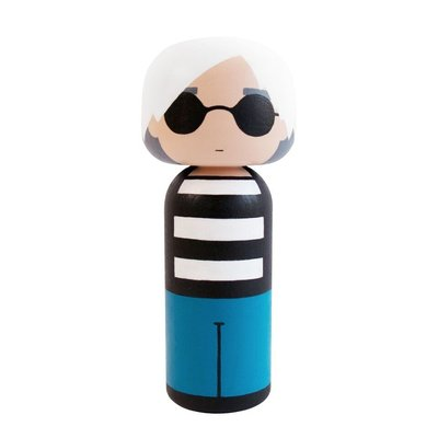 Lucie Kaas Andy Warhol Kokeshi pop