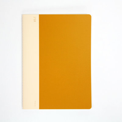 Papier Labo Hightide (PH) - exclusief kaasdoek Notebook Geel B5