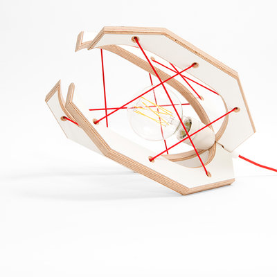 Studio Hamerhaai Grijper tafellamp