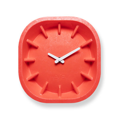 Anno Benk Paperclock Coral red