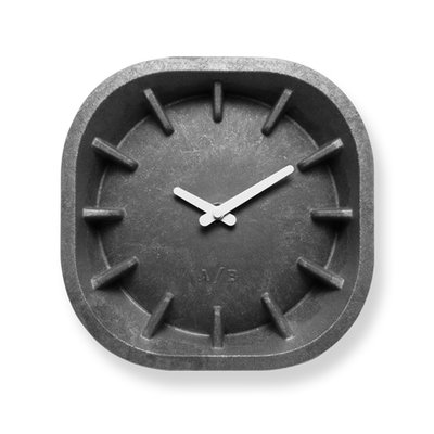 Anno Benk Paperclock Stone Grey