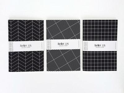 Atelier 225 Notitieboekje A6 Graphique