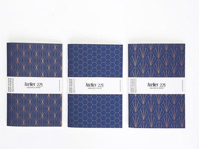 Atelier 225 Notitieboekje A6 Cuivre