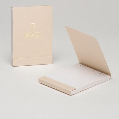 Atelier 225 klein (zak)notitieboekje Memoire de Poche