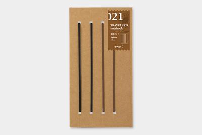 Travelers's notebook - Extra elastieken refill 021
