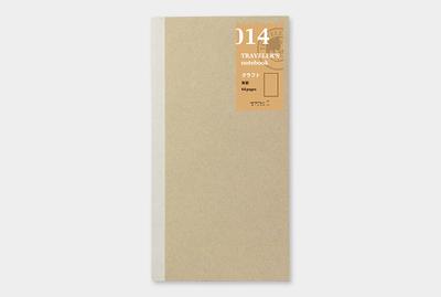Travelers's notebook - Kraft papier refill 014