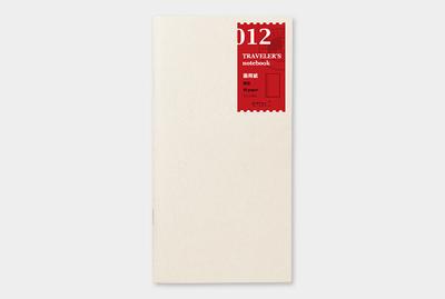 Travelers's notebook - Schets teken papier refill 012