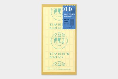 Travelers's notebook - Dubbelzijdige plakkertjes Refill 010