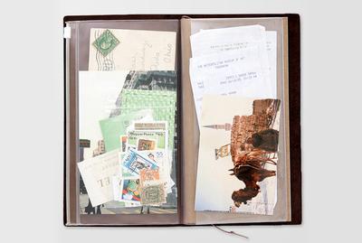 Traveler's notebook - Zipper case refill 008
