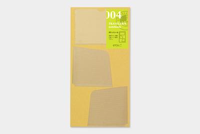 Traveler's notebook -  Insteekhoesjes stickers refill 004