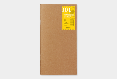 Travelers's notebook - lijntjes papier notebook refill 001