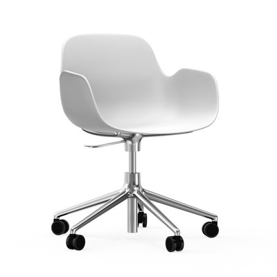 Normann Copenhagen Form Swivel Armchair 5W gaslift - bureaustoel
