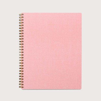 Appointed spiraal notitieboek Bloesem Roze  gelinieerd