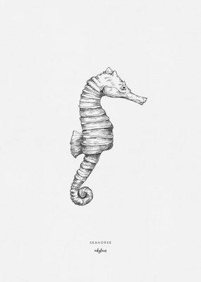 Inkylines Print Zeepaard