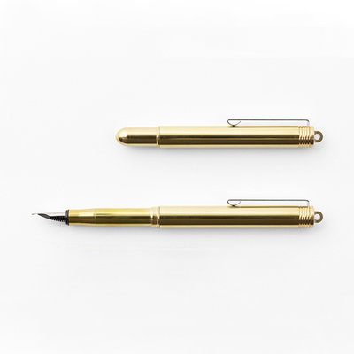 Traveler's Company (Midori) Vulpen Solid Brass