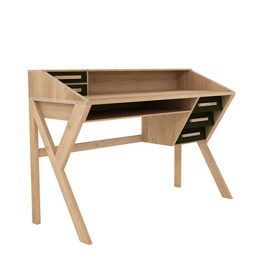 Ethnicraft Mr. Marius Origami desk  - bureau