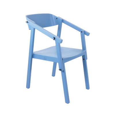 Ubikubi Atelier arm chair coloured