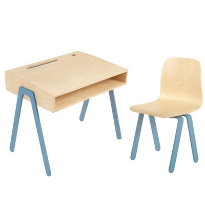 In2wood kids bureau met stoel small