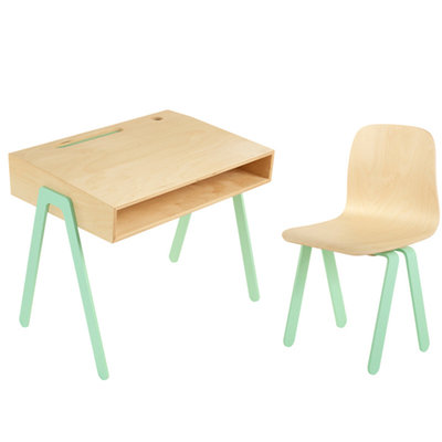 In2wood kids bureau met stoel large