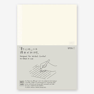 Midori MD paper products notebook A5
