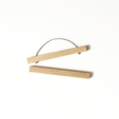 Liljebergs magnetische eiken poster hanger 31cm