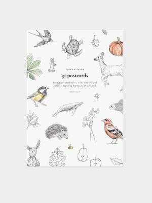 Inkylines Postcard inktober set (31 stuks)